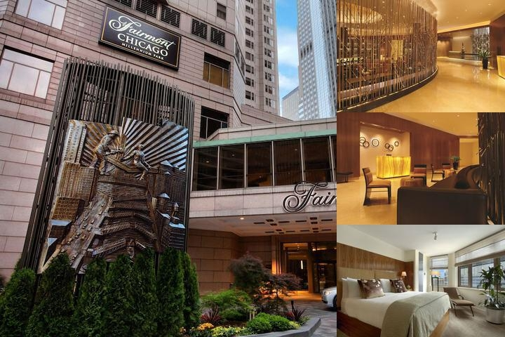 Fairmont Chicago at Millennium Park photo collage