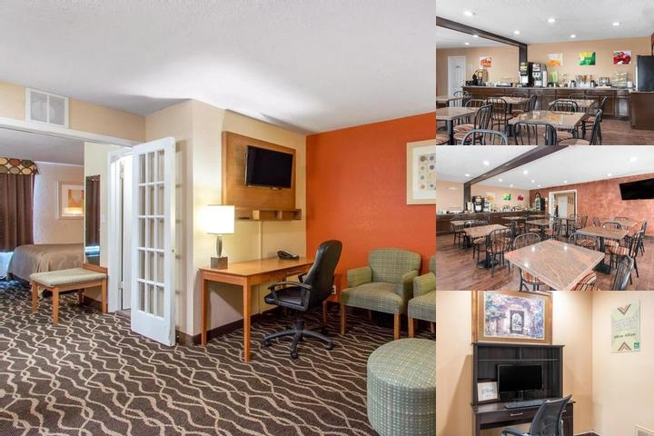 Howard Johnson Inn & Suites Ft. Sam Houston / at & photo collage