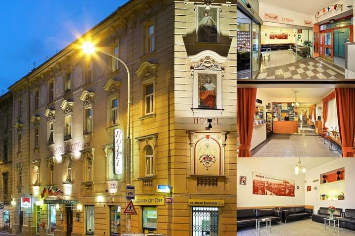 Hotel Golden City Garni photo collage