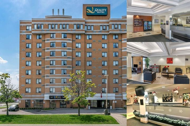 Quality Hotel Montreal East photo collage