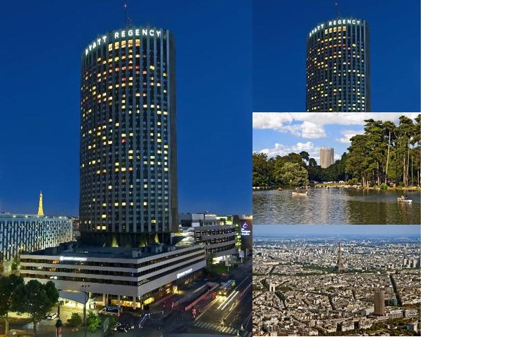 Hotel Hyatt Regency Paris Etoile photo collage