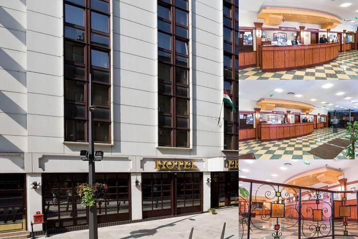 Erzsebet Hotel City Center photo collage