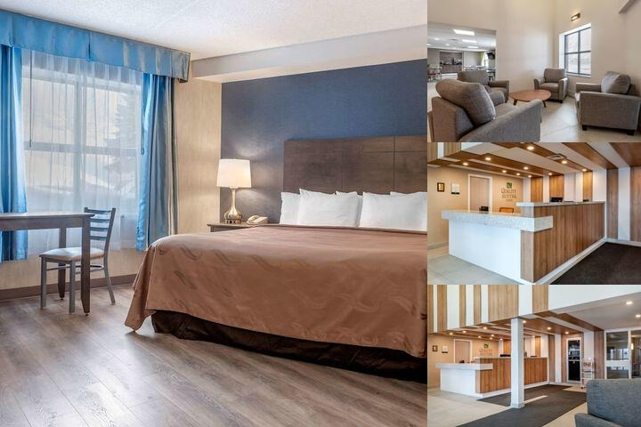 Quality Suites Quebec photo collage