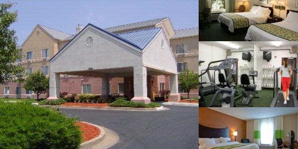 Fairfield Inn by Marriott Fenton photo collage
