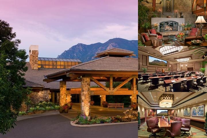 Cheyenne Mountain Resort photo collage