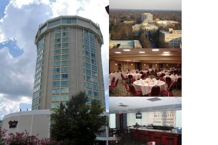 Raleigh Clarion Hotel State Capital photo collage