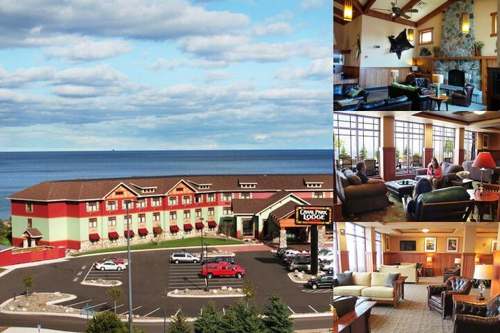 Canal Park Lodge photo collage