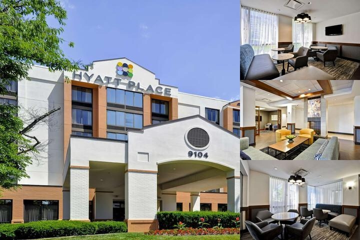 Hyatt Place Indianapolis Keystone photo collage