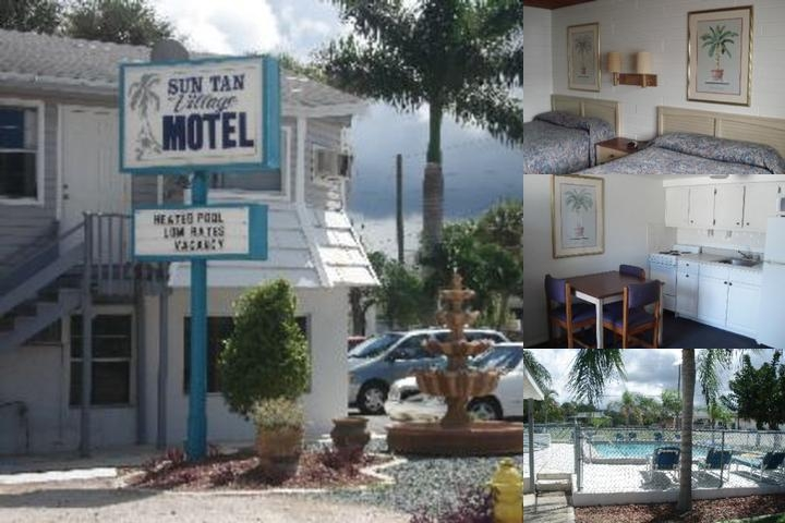 Suntan Village Motel photo collage