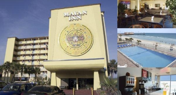 Mayan Inn photo collage