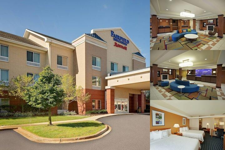 Fairfield Inn & Suites by Marriott Romulus photo collage