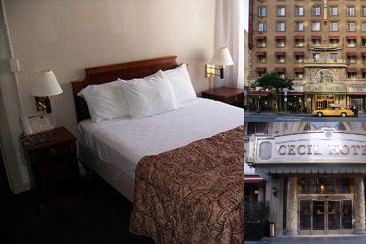 The Cecil Hotel photo collage