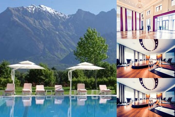 Grand Resort Bad Ragaz photo collage