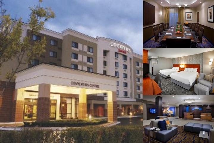 Courtyard Marriott Brampton photo collage