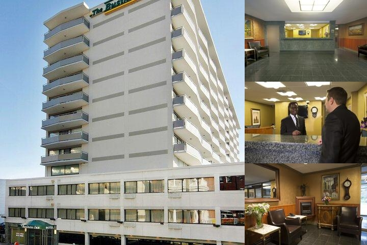 Business Inn photo collage