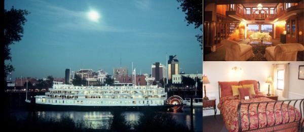 Riverboat Delta King photo collage