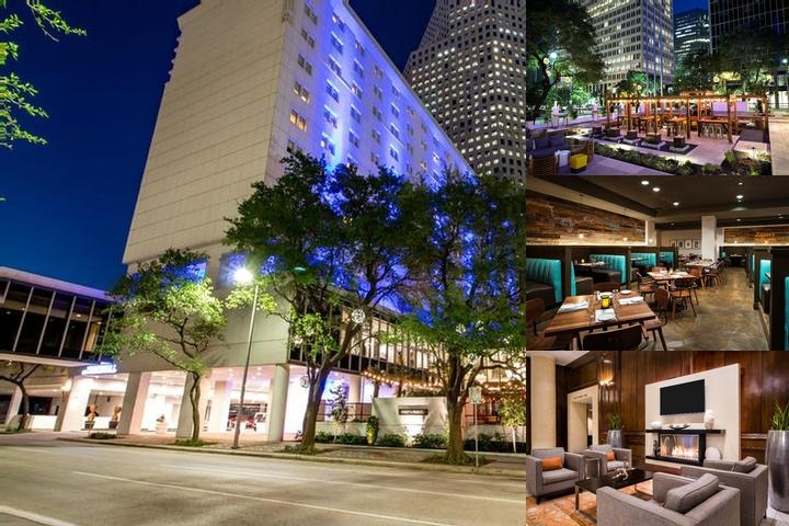Crowne Plaza Houston Downtown photo collage