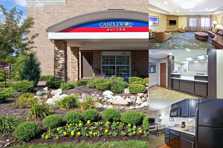 Candlewood Suites Indianapolis Airport photo collage