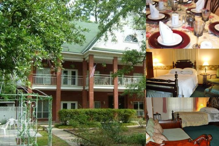 Woodridge Bed & Breakfast Inn Louisiana photo collage