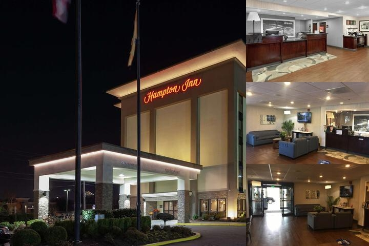 Hampton Inn Newark Airport photo collage