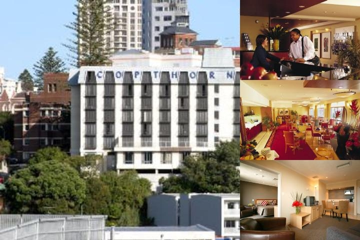 Copthorne Hotel Auckland City photo collage