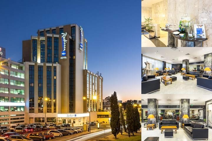 Radisson Blu Hotel Lisbon photo collage