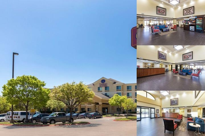 Comfort Suites Austin Airport photo collage