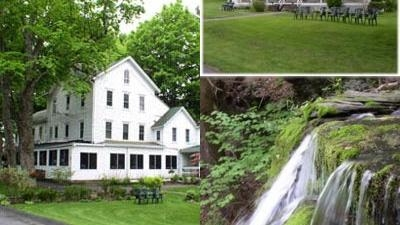 Glen Falls House photo collage