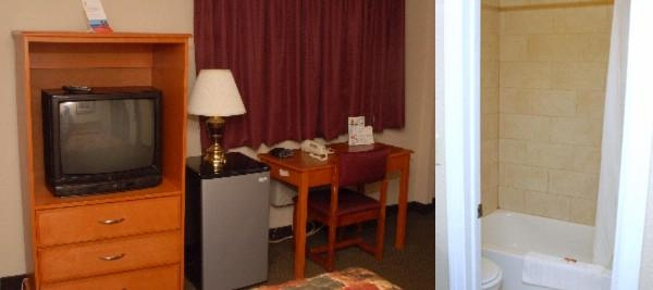 Super 8 Motel Single Room Tv And Desk