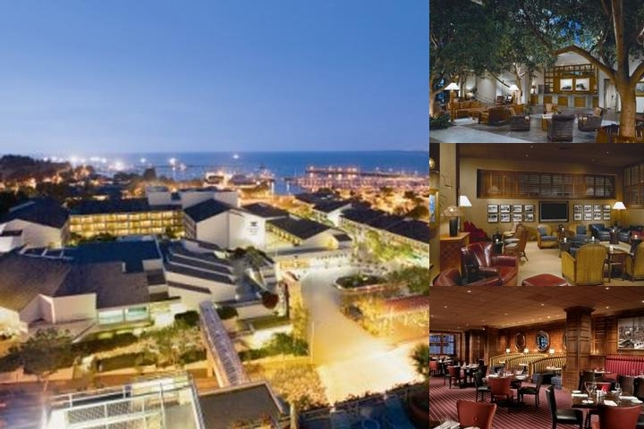 Portola Hotel & Spa at Monterey Bay photo collage