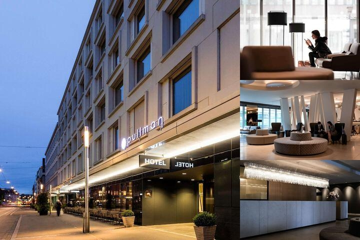 Pullman Basel Europe Hotel photo collage