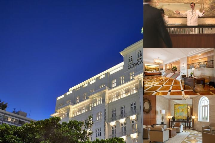 Belmond Copacabana Palace photo collage
