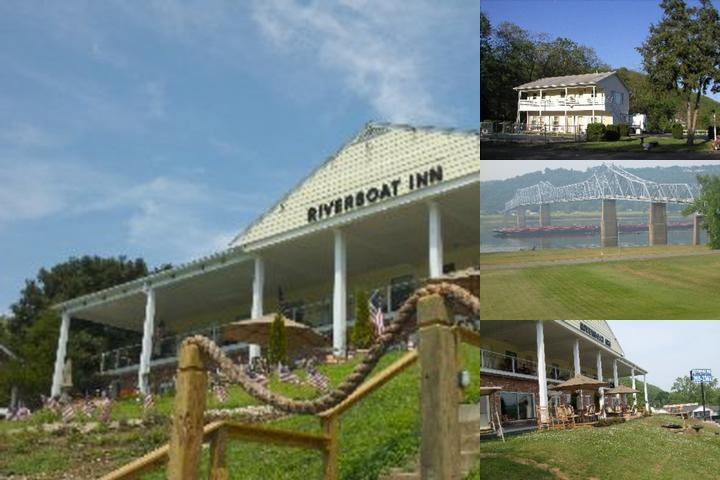 Riverboat Inn photo collage
