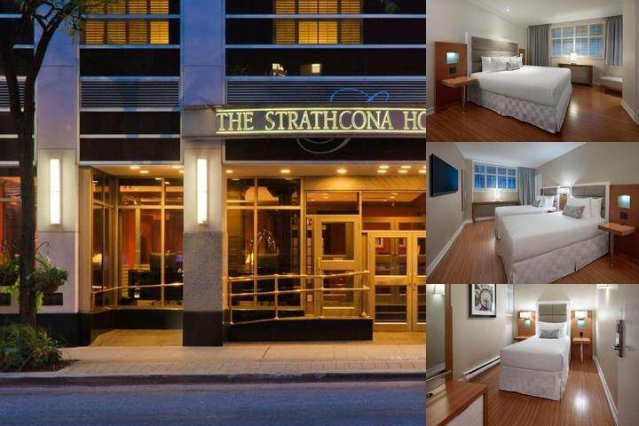 The Strathcona Hotel Downtown Toronto photo collage