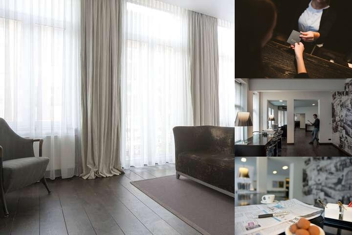 Hotel Beaumont Maastricht City Centre photo collage