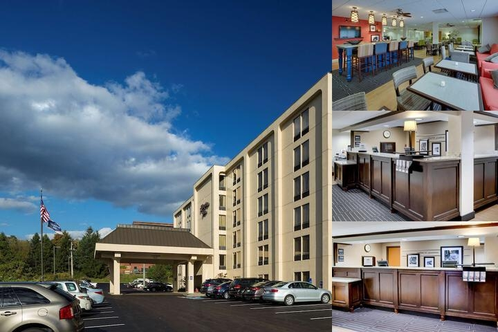 Hampton Inn Pittsburgh Green Tree photo collage