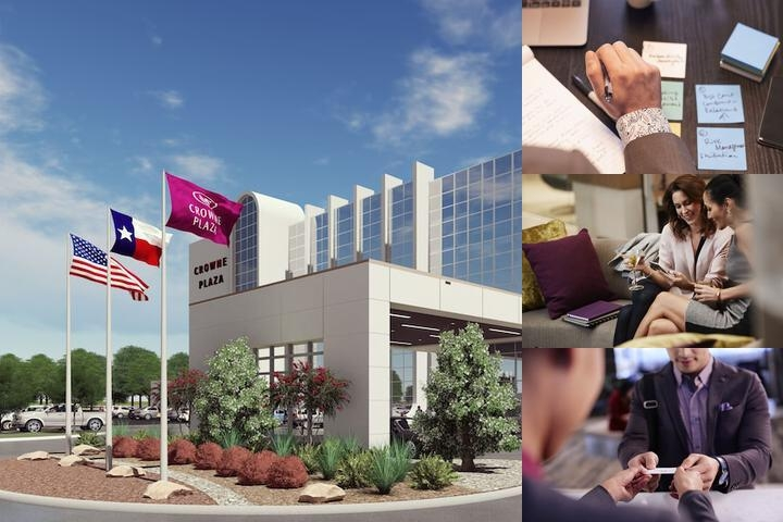 Crowne Plaza Suites Arlington photo collage