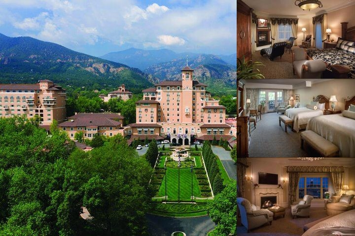 The Broadmoor photo collage