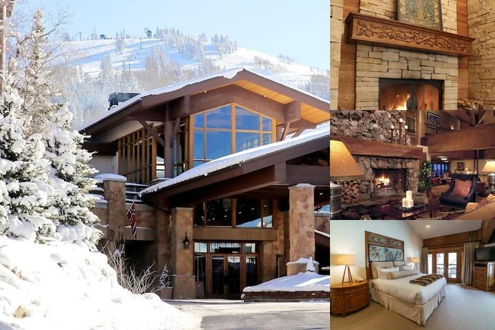 Stein Eriksen Lodge Deer Valley photo collage