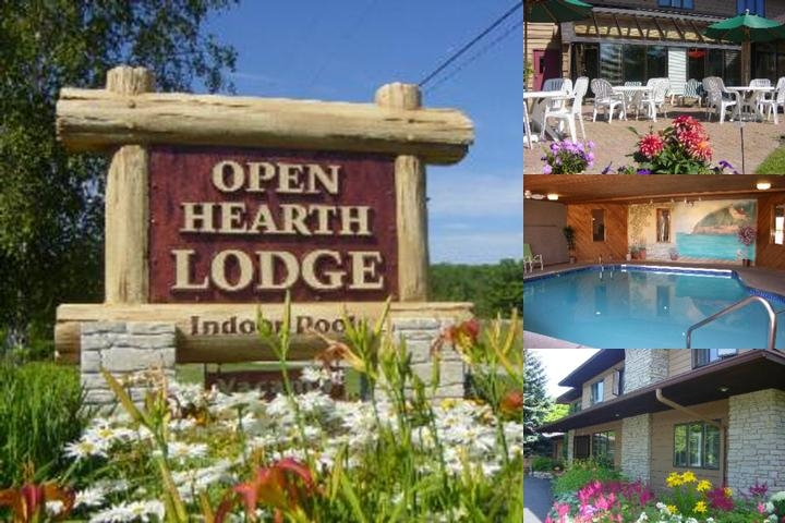 Open Hearth Lodge photo collage