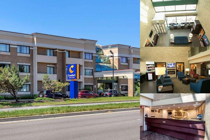 Comfort Suites Oakbrook Terrace Chicago photo collage