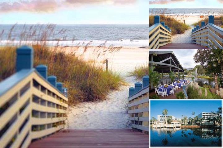 Crown Plaza Resort on Hilton Head Island photo collage