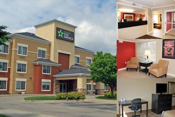Extended Stay America Airport Eagan North photo collage