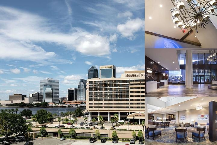 Doubletree by Hilton Jacksonville Riverfront photo collage