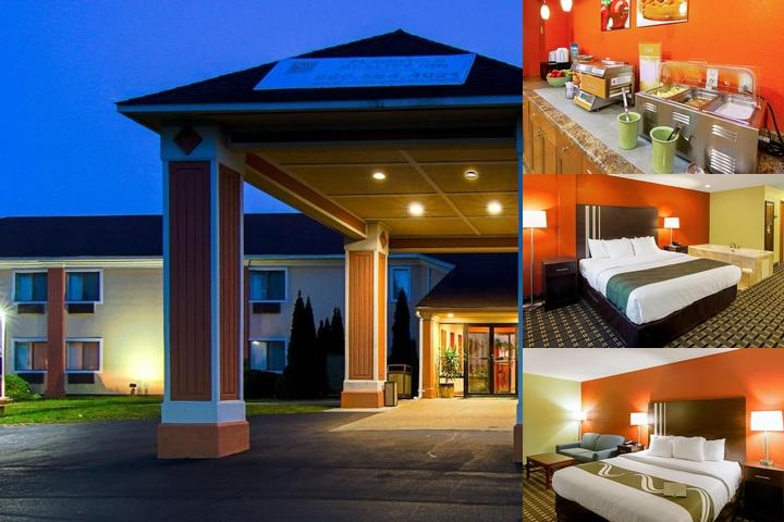 Quality Inn Plainfield Ct photo collage