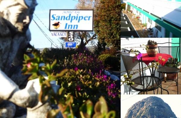 Morro Bay Sandpiper Inn photo collage