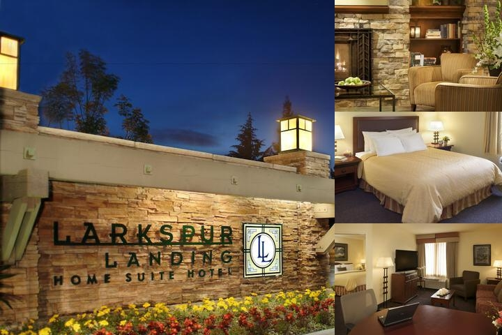 Larkspur Landing Hotel Sacramento photo collage