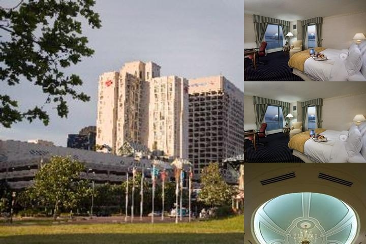 Norfolk Waterside Marriott photo collage