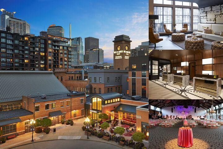 Renaissance Minneapolis Hotel The Depot photo collage