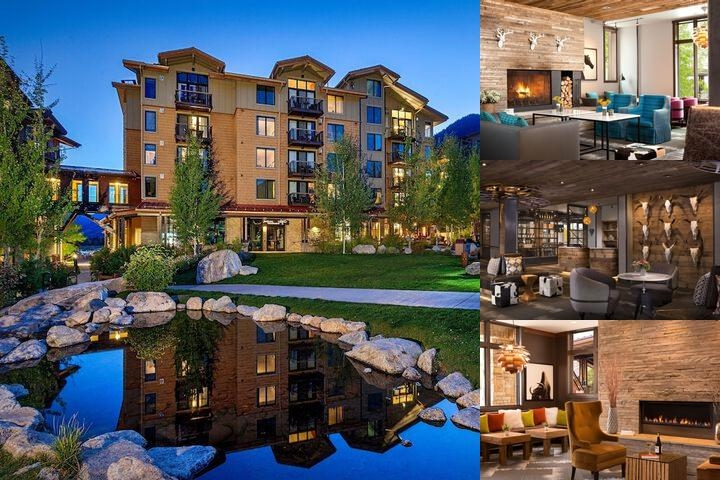 Hotel Terra Jackson Hole a Noble House Resort photo collage